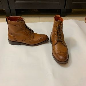 Allen Edmonds Dalton Wingtip Dress Boots